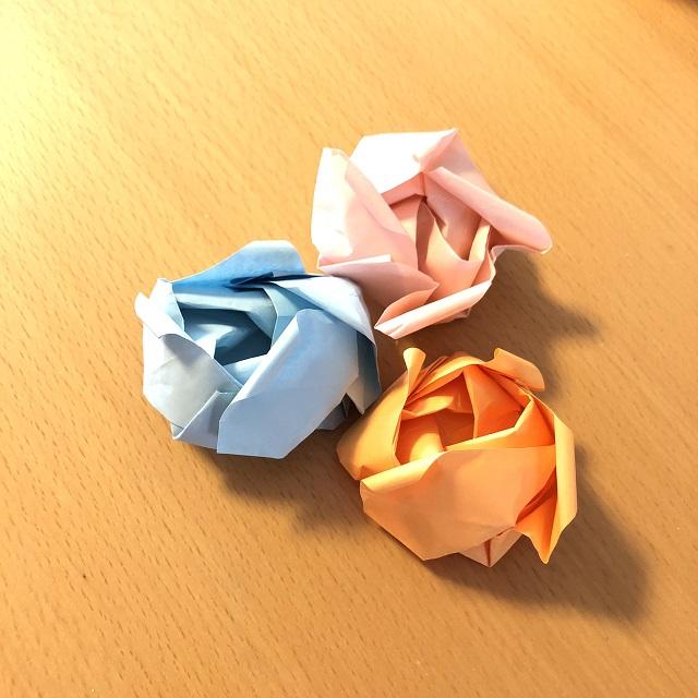 花 難しい 折り紙
